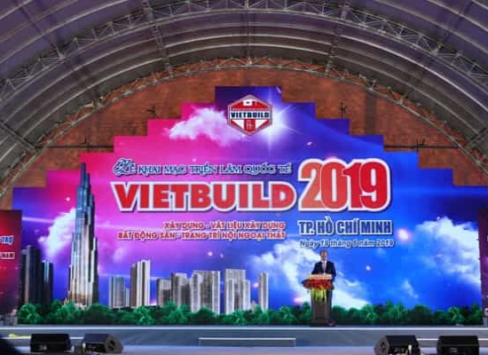 TRIỂN LÃM QUỐC TẾ VIETBUILD HỒ CHÍ MINH 2019 ĐÃ CHÍNH THỨC KHAI MẠC